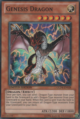 Genesis Dragon - GLD4-EN028 - Common - Limited Edition