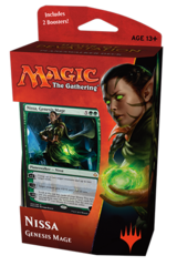 Hour of Devastation Planeswalker Deck - Nissa Genesis Mage