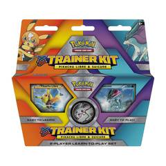 XY Trainer Kit - Pikachu Libre & Suicune