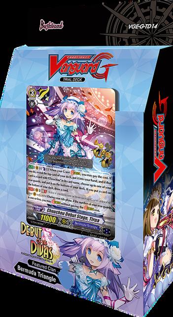Cardfight!! Vanguard: G Trial Deck 14 - Debut Of The Divas