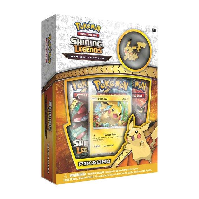 Shining Legends Pin Box - Pikachu
