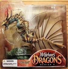 McFarlane's Dragons Water Clan 3 Dragon Clan 3 Quest for Lost King NIB