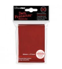 50ct Red Standard Deck Protectors