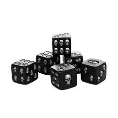 Skull Dice Set of 6 - 6-sided Pacific Trading