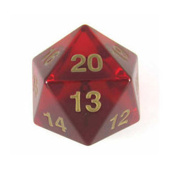 55mm D20 Ruby Gold