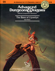 AD&D: C5 The Bane of Llywelyn 9109