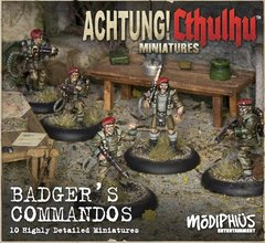 Achtung! Cthulhu - Badger's Commandos Unit Pack
