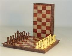 Folding Woody Magnetic Chess Set