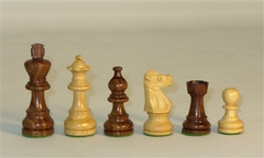1001SF3 Small Sheesham French Chessmen