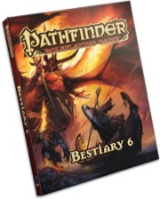 Pathfinder Roleplaying Game - Bestiary 6 Hardcover