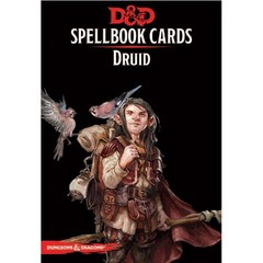 Spellbook Cards: Druid D&D 5E