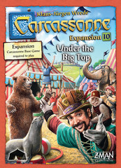 Carcassonne Exp 10.  - Under the Big Top 10