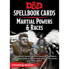Spellbook Cards: Martial Powers & Races D&D 5E