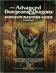 AD&D - Dungeon Master Guide (1983) 2011 HC