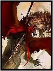 50 ct Crimson Rider Card Sleeves