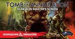 Tomb of Annihilation - 5e GM Screen