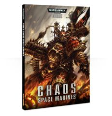 40k Codex: Chaos Space Marines Softcover