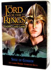 Lord of the Rings TCG 2x Starter Decks Siege of Gondor