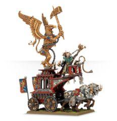 Warhammer Empire: Volkmar the Grim on War Altar of Sigmar