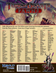 Tome of Beasts Pawns D&D 5E RPG