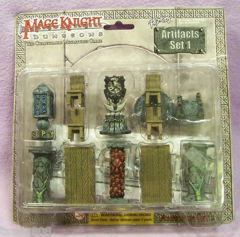 Mage Knight Dungeons Artifacts Set 1