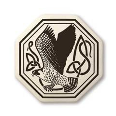 Celtic Birds Octagon Pendant