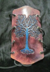 Nathan's Leatherworks Archery Arm Guard (Tree) NL-01