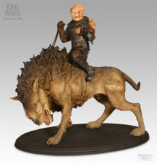 LOTR Gothmos with Worg by Sideshow Collections