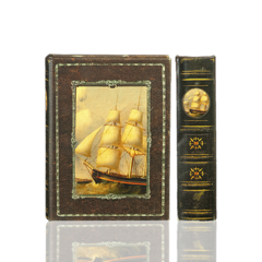 BK-49 Sailing Ship Book Box (1 box)