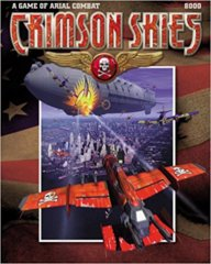 Crimson Skies Game of Aerial Combat (FASA)