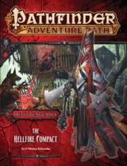 Pathfinder Adventure Path #103: The Hellfire Compact (Hell's Vengance 1 of 6)