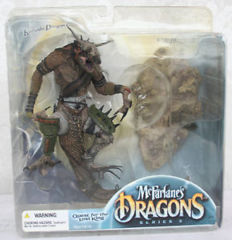 McFarlane's Dragons Komodo Clan 3 Dragon Clan 3 Quest for Lost King NIB