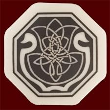 Celtic Cerridwen Octagon Pendant