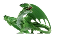 Pathfinder Battles: Legends of Golarion Gargantuan Green Dragon