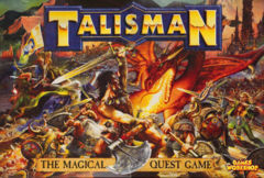 Talisman: Magical Quest Game (3rd Ed, 2003 reprint) Games Workshop Mint in Shrink
