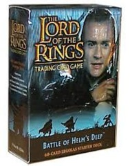 Lord of the Rings TCG 2x Starter Decks Battle of Helm's Deep