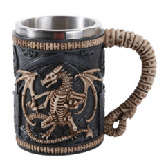 Skeletal Dragon Mug (Pacific Trading 11456)