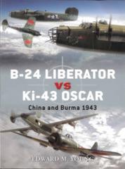 B-24 Liberator vs Ki-43 Oscar (Duel 41)