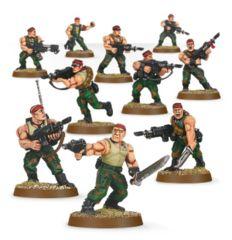 Astra Militarum Catachan Jungle Fighters