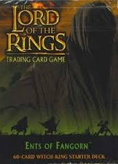 Lord of the Rings TCG 2x Starter Decks Ents of Fangorn