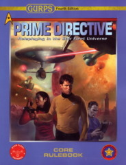 Gurps 4th Prime Directive Core Rulebook