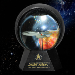 Star Trek U.S.S. Enterprise Lighted Star Globe