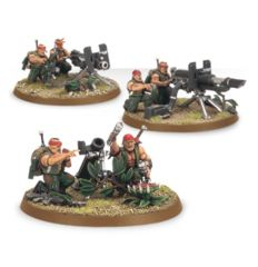 Astra Militarum Catachan Heavy Weapons Team