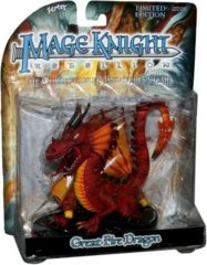 Mage Knight Great Fire Dragon (Rebellion)