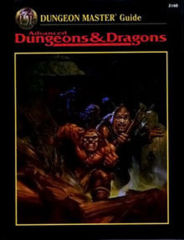 AD&D 2e - Dungeon Master Guide 2160 HC