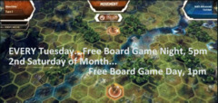 Board Games Tuesday Night Free!