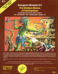 AD&D: C1 The Hidden Shrine of Tamoachan 9032 (1981 Cover)