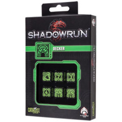 Shadowrun Dice Set Decker