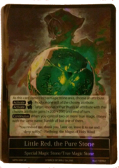 Little Red, the Pure Stone (Green) - MPR-098 - SR - 1st Printing
