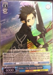 Kirito - For Someone Special - SAO/S20-E080S - SR